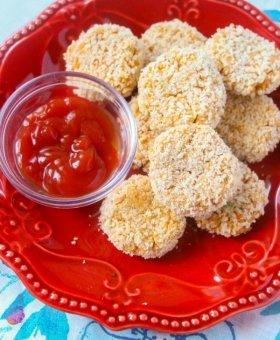 Cauliflower Nuggets (Dairy Free & Gluten Free)