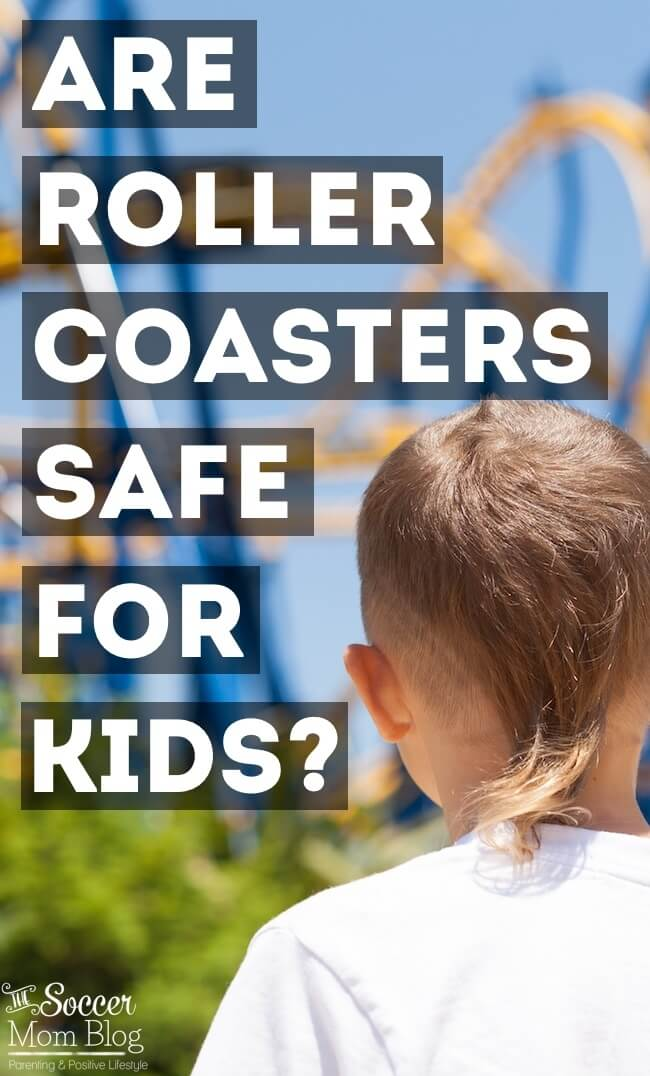 Are roller coasters safe for kids? What parents need to know before they decide whether it's ok for their kids to ride roller coasters and water slides.