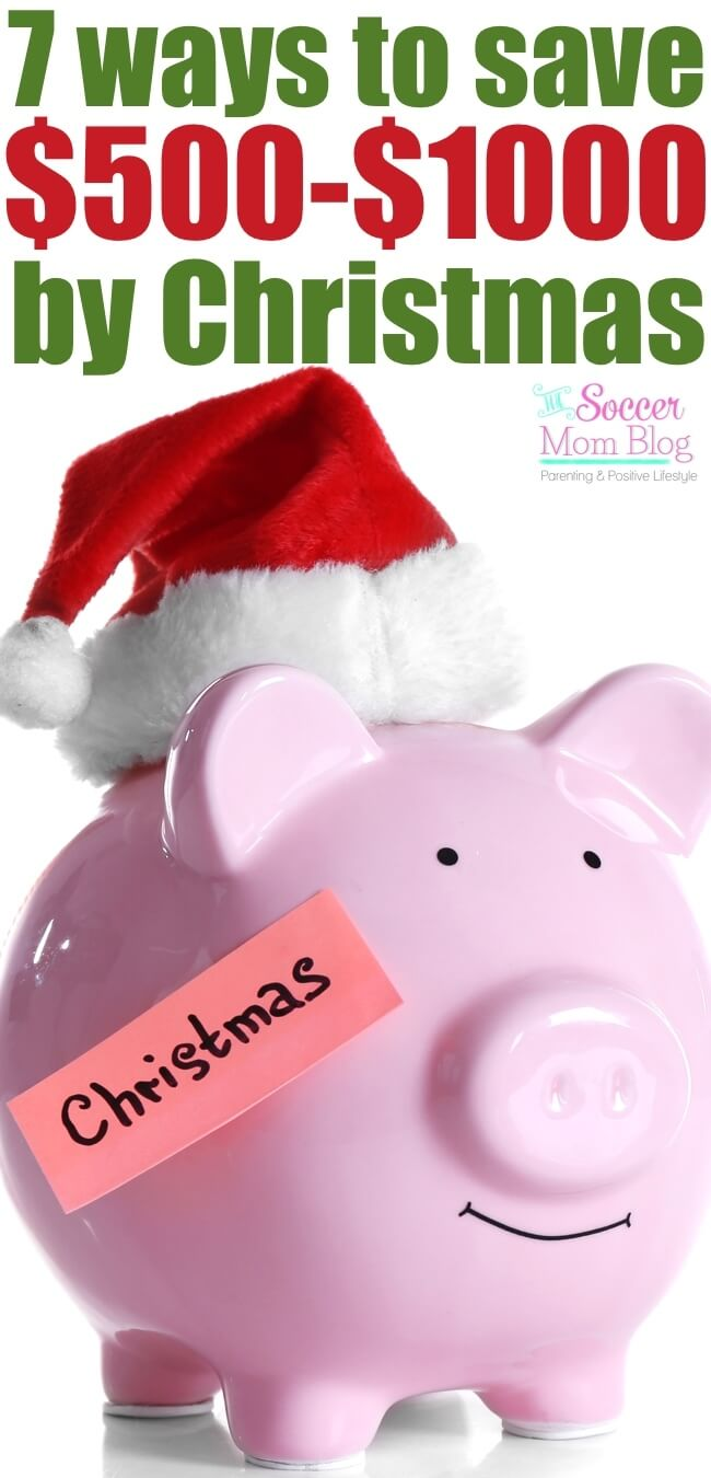 You CAN have an amazing Christmas...without a mountain of debt! Try these do-able budget tips to save 500 dollars (or more!) by the holidays.