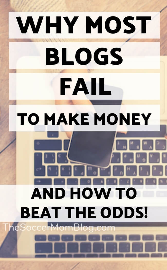 Reality: Over 2/3 of all blogs fail to make any money. But you CAN beat the odds! Click to learn what it takes to create a successful money-making blog!