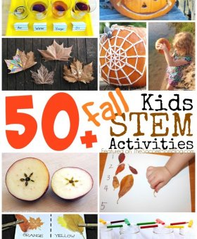 50+ Fall STEM Activities for Kids