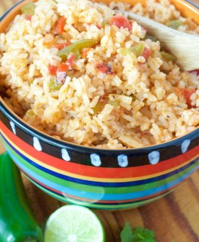 PERFECT Authentic Mexican Rice