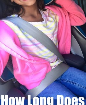 How Long Does my Child Need a Booster Seat?