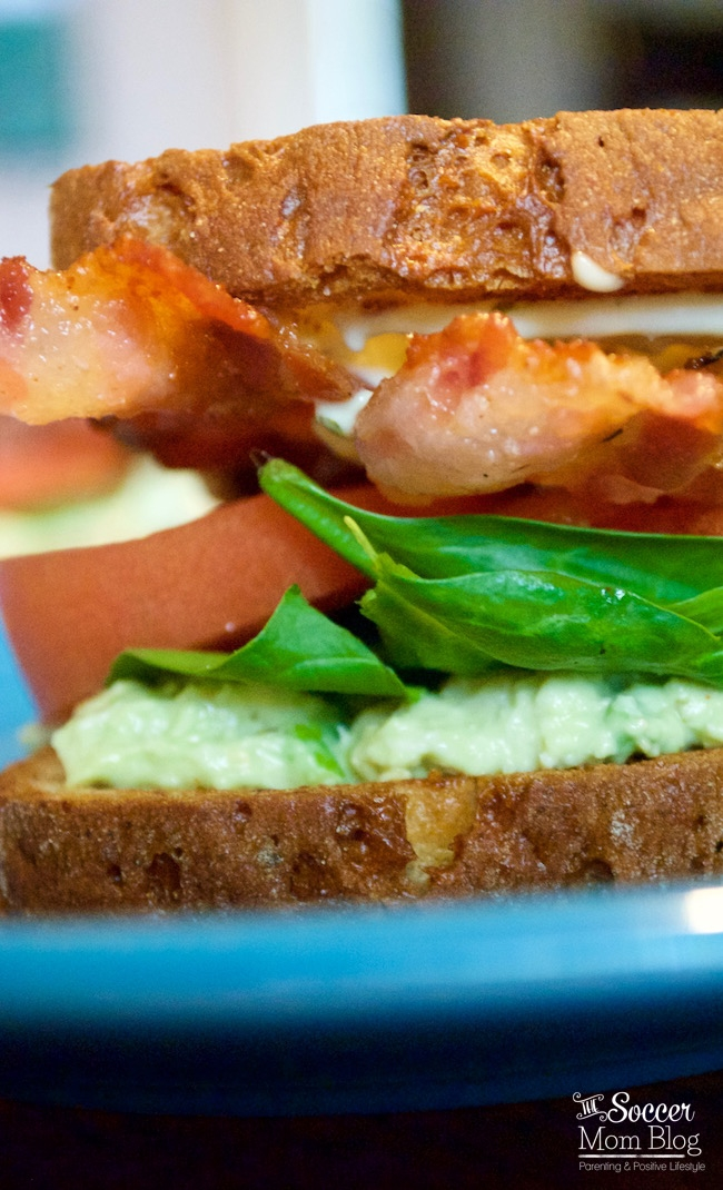 You'll never look at a regular sandwich the same again! This Creamy Crab Salad BLT is the perfect lunch recipe with a secret ingredient you've got to taste!
