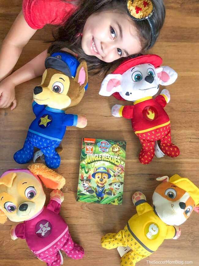 PAW Patrol Snuggle Up Pup toys