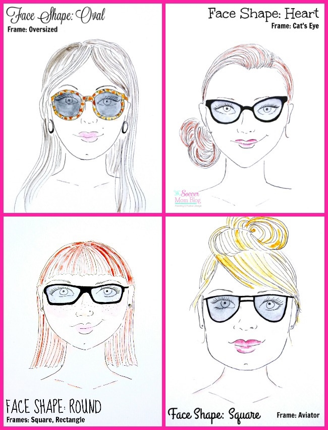 0be1d08a0a487 How to Choose the Best Sunglasses for Your Face - The Soccer Mom Blog