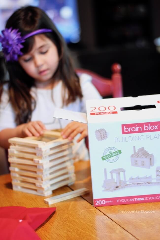 Brain Blox building planks creative kids toys