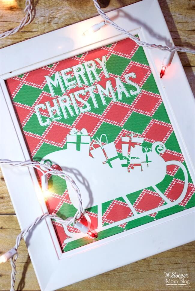 Add a fun & funky touch to your holiday party decor with FREE Printable Ugly Christmas