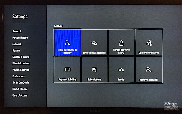 Xbox Child Safety Settings Parents Need to Know - The Soccer Mom Blog