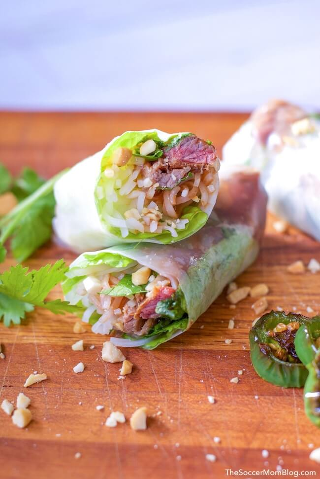 Watch our demo video to learn how to wrap Vietnamese spring rolls - the easy way! Plus learn a photo step-by-step Vietnamese Spring Roll recipe too!