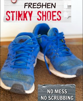 2 Easy Steps to Eliminate Shoe Odor