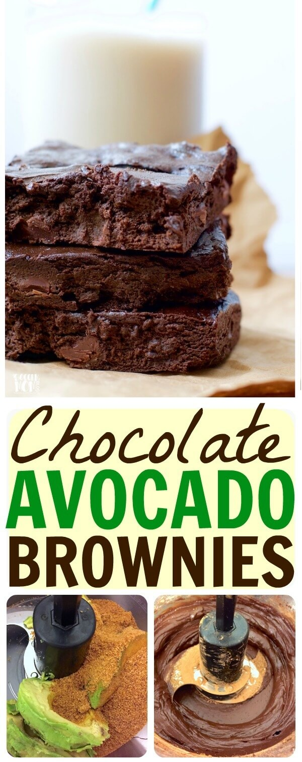 These avocado brownies are almost too good to be true!! SO Rich & fudge-y they even fools my kids (who don't like avocado!) Gluten free, dairy free, and full of healthy avocado goodness.