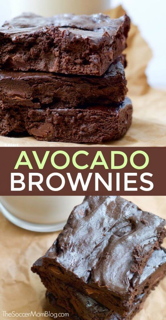 You know those days where you just need a little chocolate in your life — but you don't want to eat something super heavy? These Chocolate Avocado Brownies are the perfect solution!
