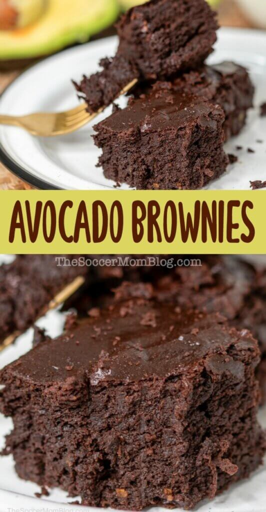 These chocolate avocado brownies are almost too good to be true!! They're unbelievably rich, fudgy and decadent...and guilt-free! High in omega-3s & good fats, PLUS gluten free and dairy fee, this healthy brownie recipe is one of our all-time favorite treats, healthy or not!