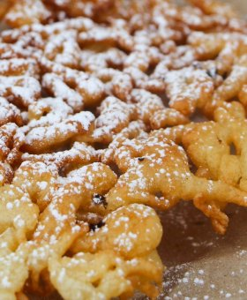 Carnival-Style Gluten Free Funnel Cakes