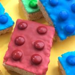 These LEGO Rice Krispies Treats will delight your favorite LEGO fans! The perfect easy dessert to celebrate the new movies, for a birthday party, or anytime!