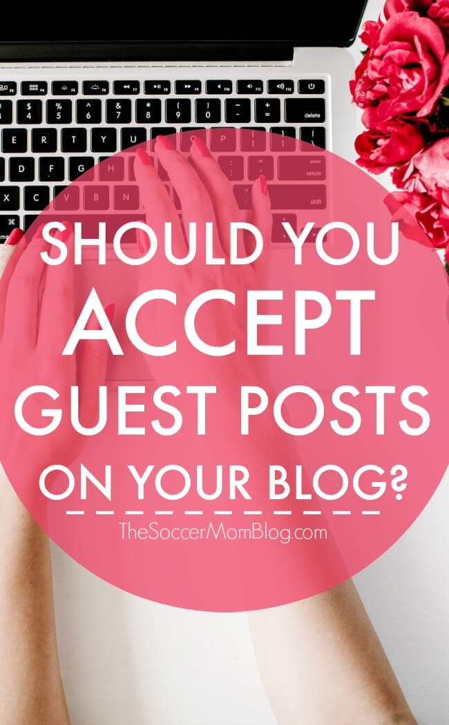 The ONE question to ask before you accept guest posts on your blog - should you even accept them at all?? 2 major red flags to protect yourself & more tips.