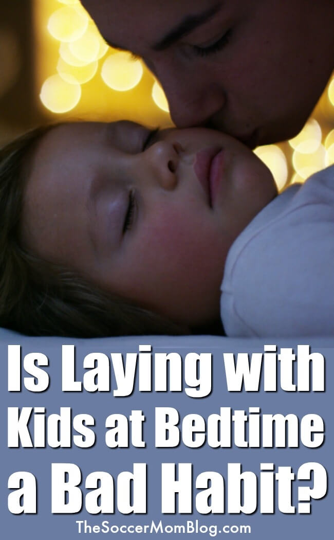 "When your kids asks ""Mommy, will you lay with me?"" OR ""Can I have one more hug?"" Forget what the experts say! Laying with your kids is NOT a bad habit!"