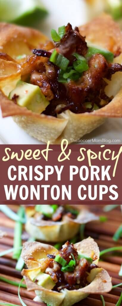 These Crispy Pork Belly Wonton Cups are an Asian-inspired twist on barbecue — a tantalizing combination of sweet, spicy, and umami. You won't be able to eat just one!