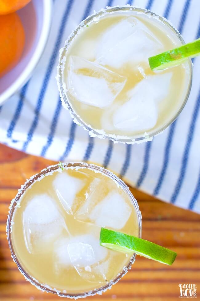 How to make a skinny margarita without a mix