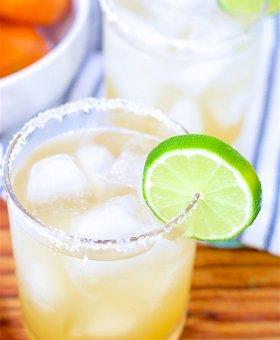 Fresh Lime Skinny Margarita Recipe