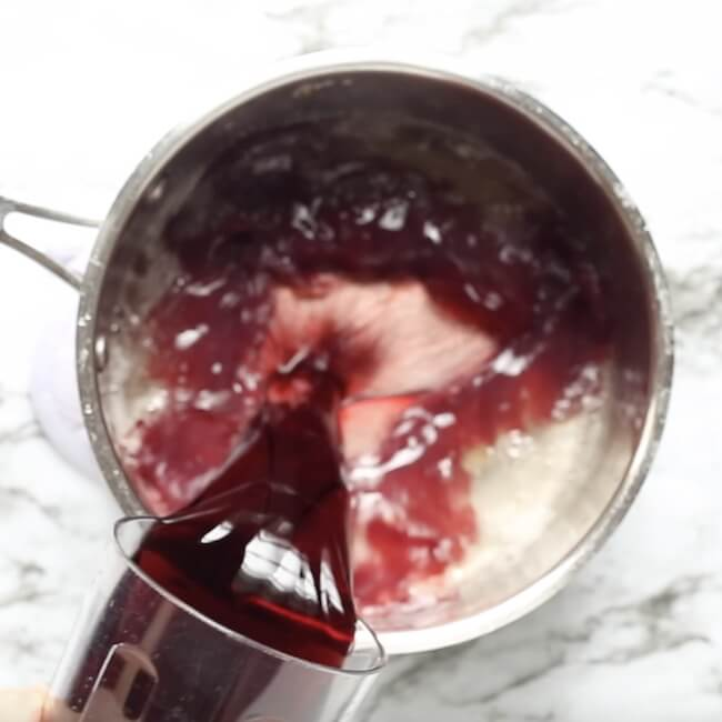 how to make wine popsicles with red wine