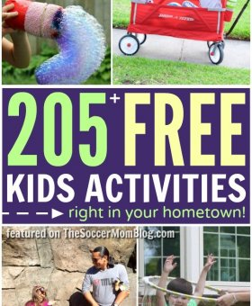 205+ Free Kids Activities for a Summer of Adventure