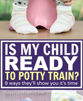 When is the Right Time to Start Potty Training