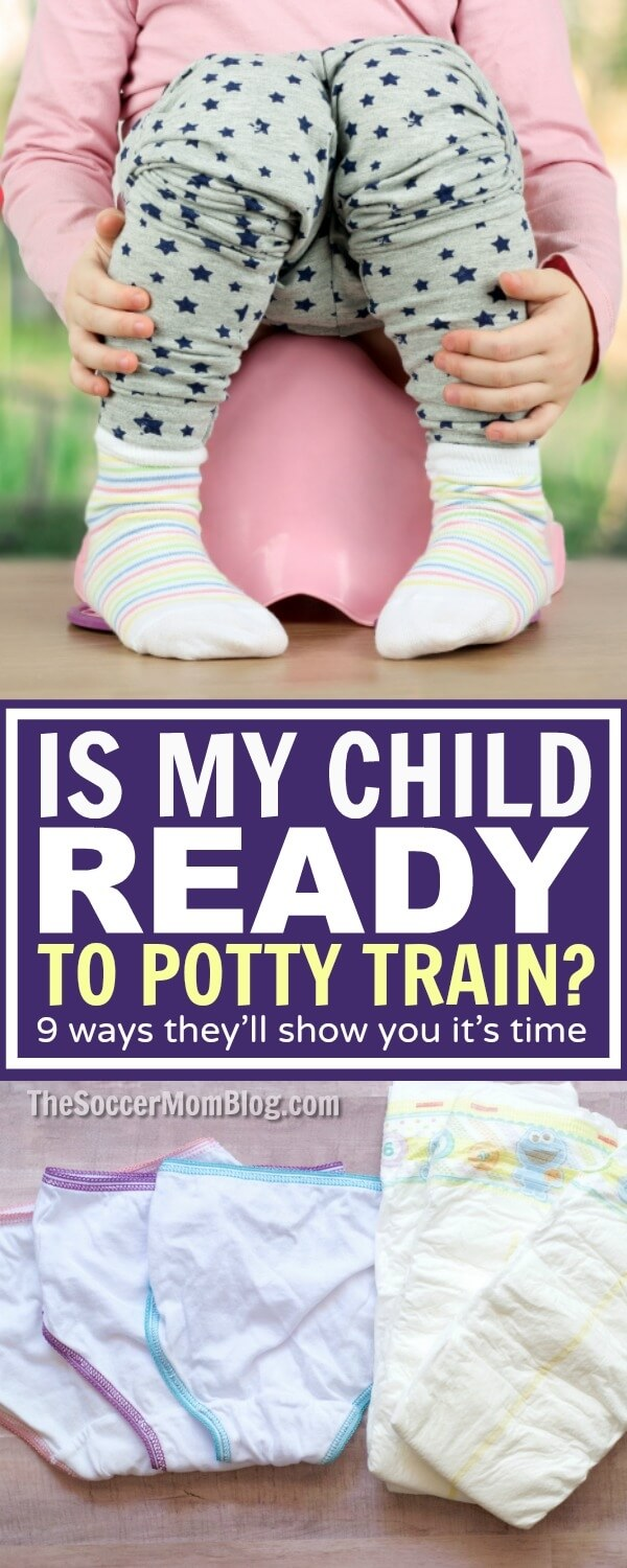 Is your child ready to start potty training? 9 physical & behavioral readiness clues, plus the one essential item to have on hand you might not expect!