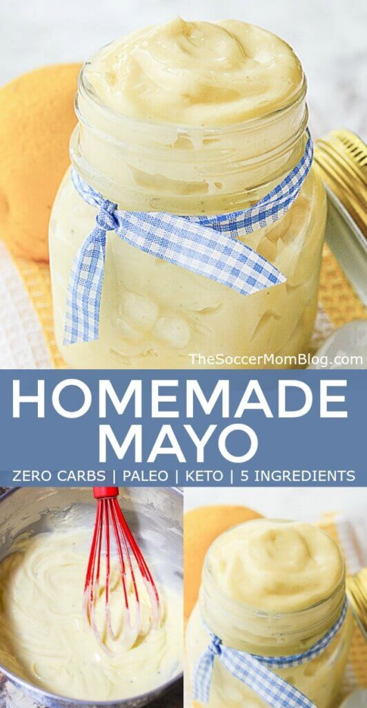 Homemade Mayonnaise is not only delicious, but good for you too! Our keto mayo is also Paleo, no carb, gluten free - click for video tutorial!