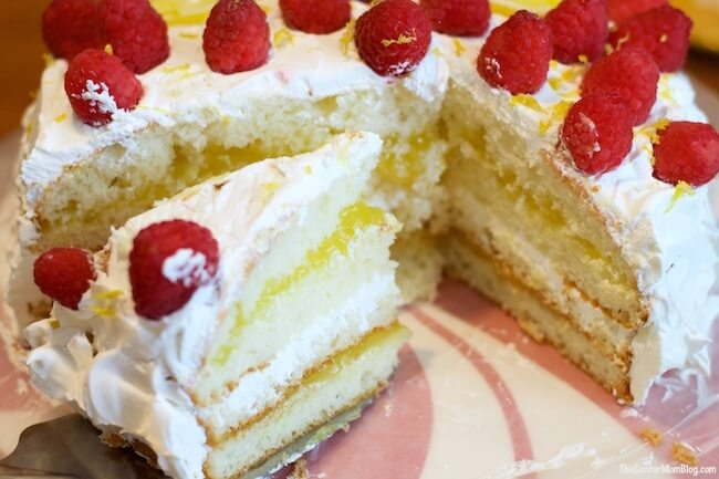Step aside chocolate, this absolutely divine lemon curd layer cake is the new special favorite occasion dessert in town! SUPER easy (only 3 ingredients)