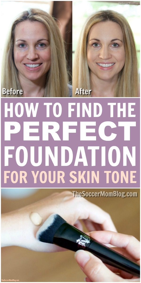 No more guessing!! There's an EASY way to find the perfect foundation match for your skin tone.