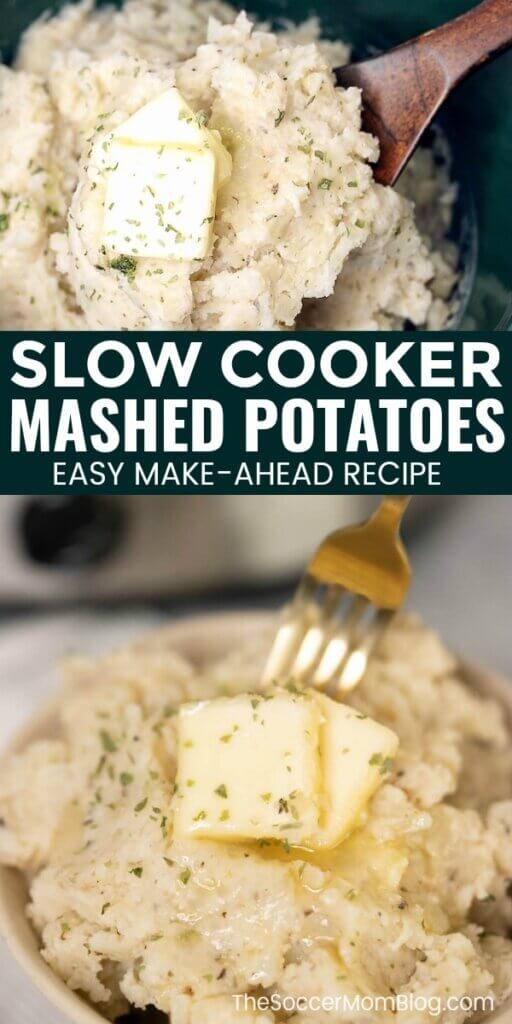 slow cooker mashed potatoes with butter