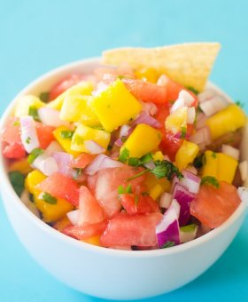 Pineapple Watermelon Salsa
