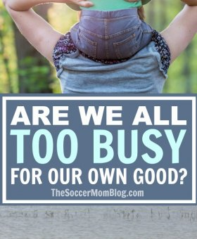 Are We Too Busy for Our Own Good?