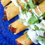 A Mexican comfort food classic gets a Texas twist — BBQ Pork Taquitos are quick, easy, and downright addictive!