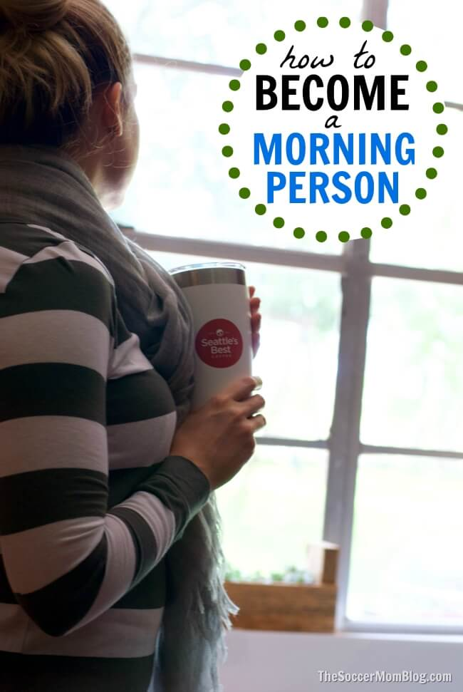 Even if you're naturally a night owl, you can still be a morning person with these five simple tricks to start your day the right way.