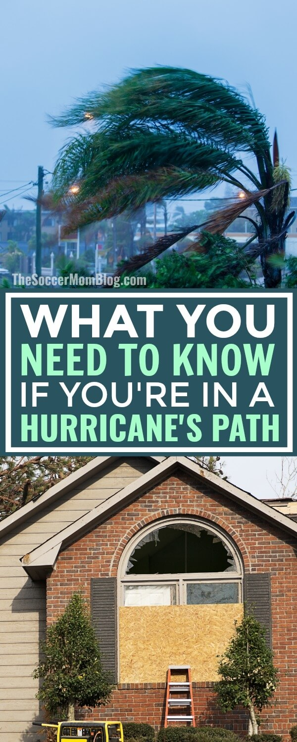 Hurricanes are NO joke. I've been through two (so far) and here's what you need to know if it's your first time. (Or if you're curious). Plus — grab a printable hurricane supply list.