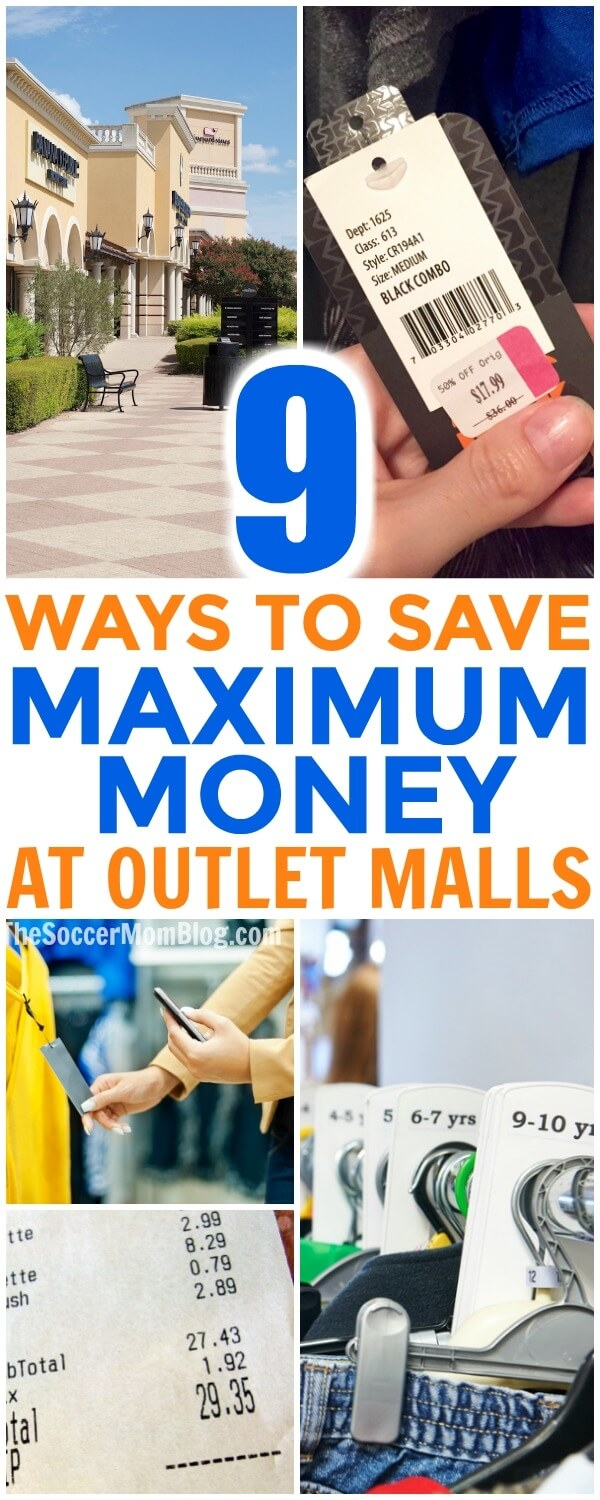 Outlet malls and factory stores are an awesome tool to save money on just about anything — if you know the tricks to shop smart!