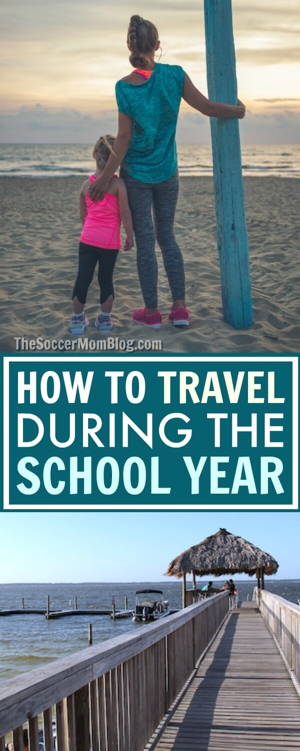 It IS possible to travel during the school year without disrupting your child's education. 8 important things to consider when planning your next trip.