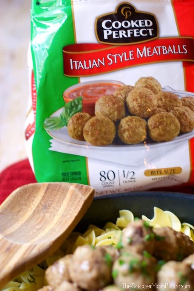 The easiest Swedish Meatballs recipe ever — ready in half the time of traditional recipes, but twice as flavorful!
