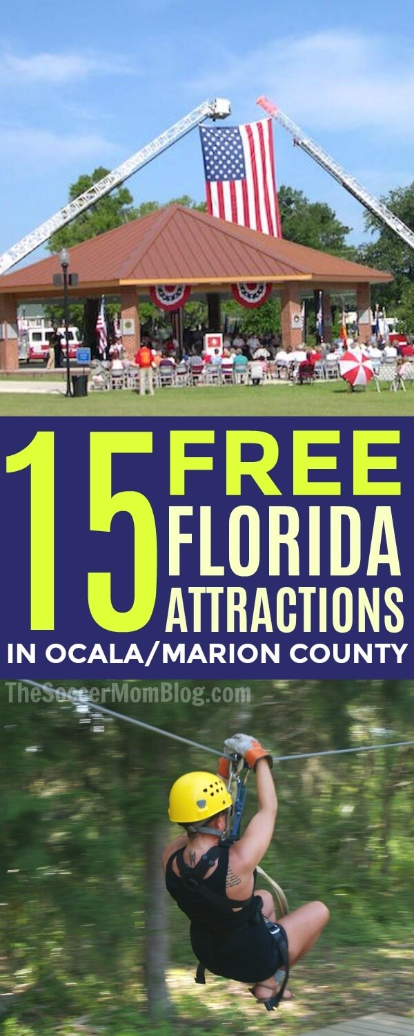 An awesome list of free things to do in Florida for families - perfect for traveling on a budget! 15 activities of all types to save money and have fun!