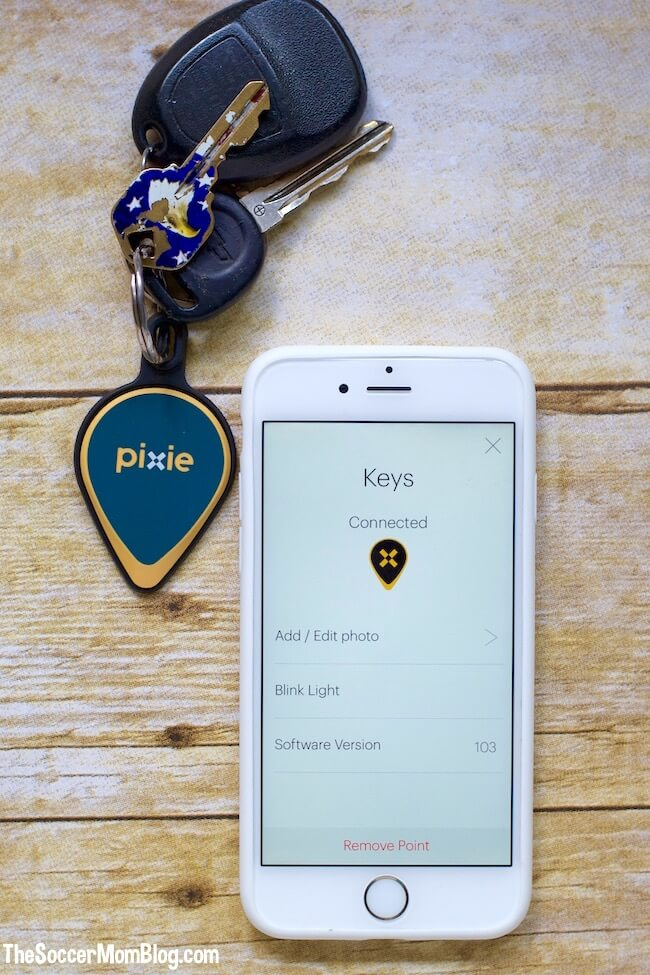 Pixie is a 2-in-1 item finder that utilizes both audio and visual locating technology to point you right to your misplaced object.