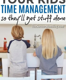 10 Tricks for Teaching Kids Time Management