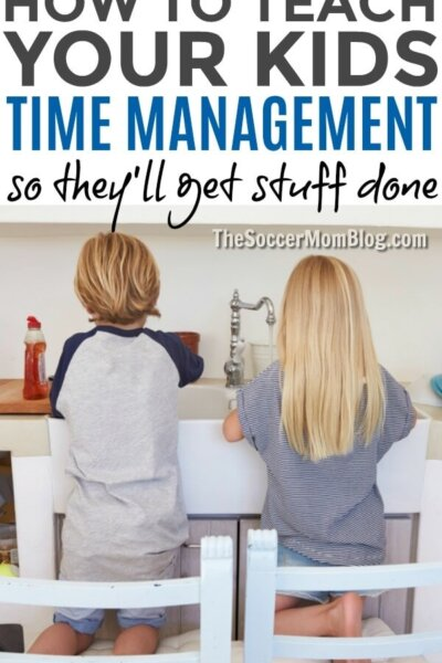 Want kids to get things done when you want them to? Give them the tools to do it themselves with these 10 tricks for teaching kids time management.