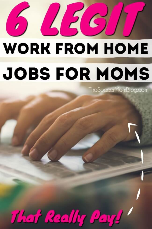 Tired of sacrificing time with your family for a job that you don't love...or doesn't love you? Supporting your family doesn't mean you have to give up spending time with them! Keep reading for the best work from home jobs for moms that really work! How do I know? Because I've tried them!