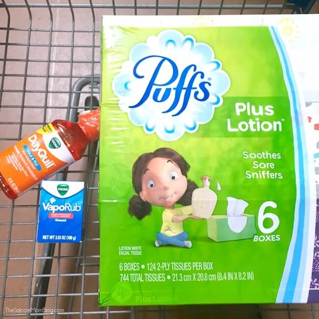 Flu season essentials at Walmart