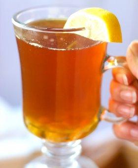 Flu Fighting Tea with Ginger & Turmeric