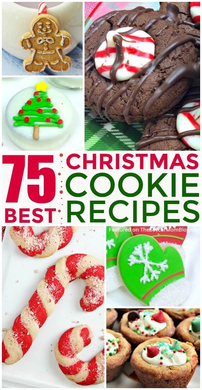 AWESOME collection of the BEST Christmas cookies from our favorite food bloggers. Secret family recipes, kids cookies, gluten free, and more!