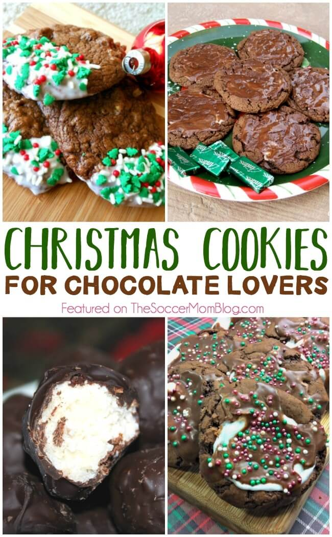 The Best Christmas Cookies for Chocolate Lovers!